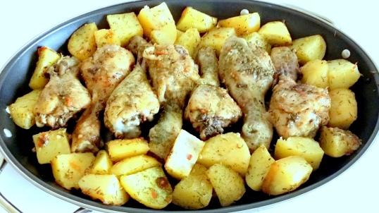Baked chicken drumsticks 2