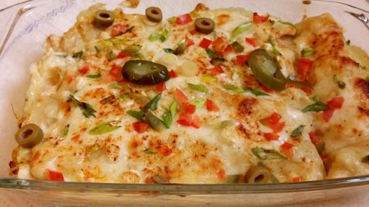 Creamy Chicken Enchiladas 5